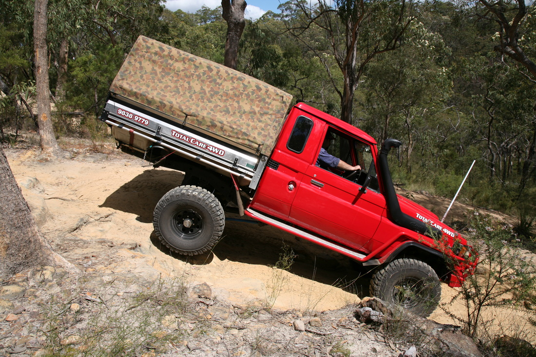 Toyota Landcruiser Extra Cab - THE LONG PADDOCK