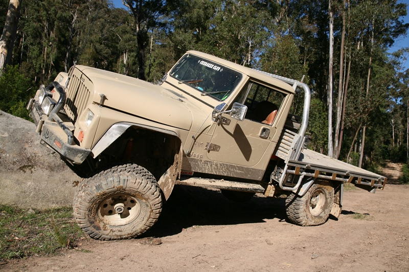 Jeep Cj7 Parts >> Jeep J10 ute - THE LONG PADDOCK